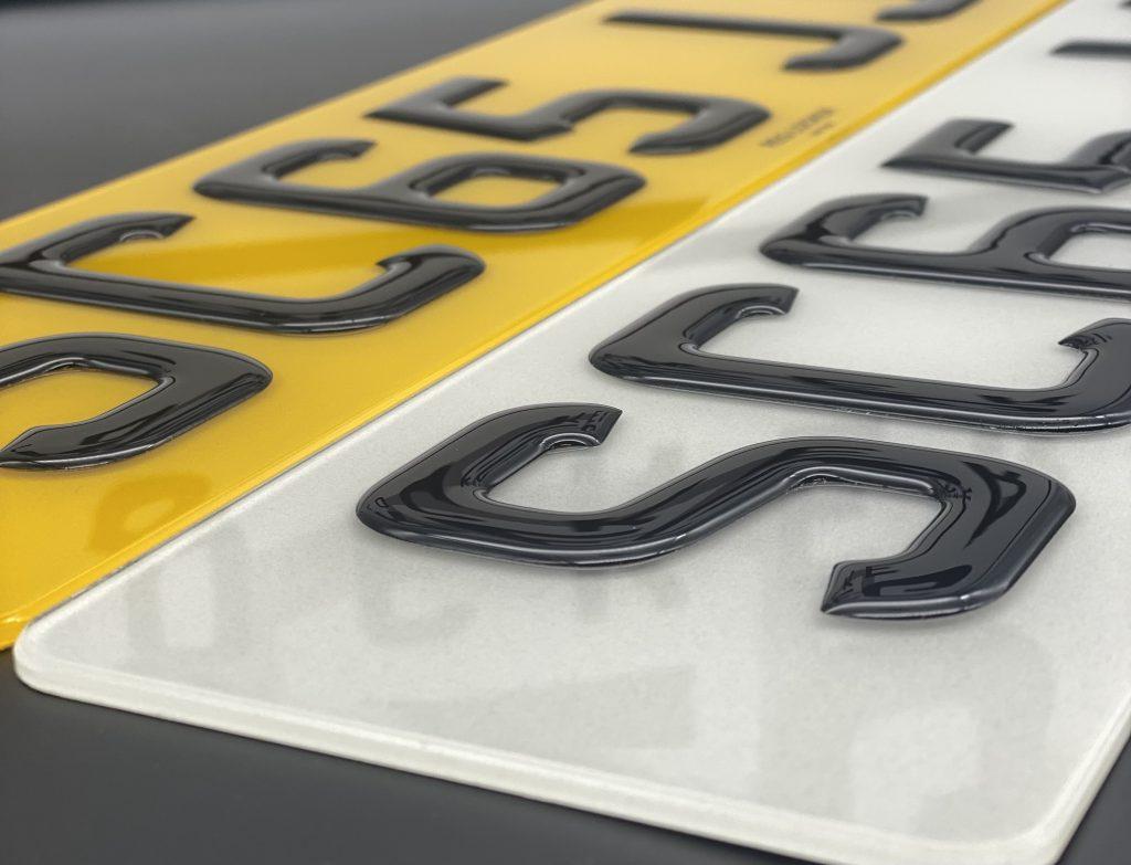 4D Number Plates Legal